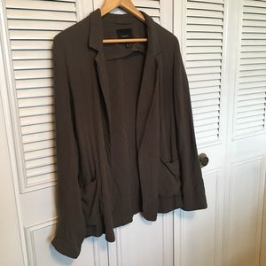 Talula Green Relaxed Fit Blazer
